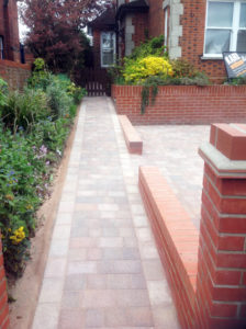 Paving, driveway and brick-laying