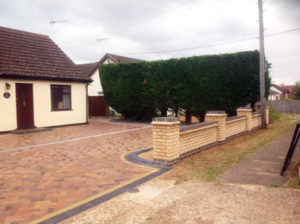 Brick laying, groundworks and driveway by Karl Welham